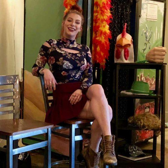 BeckiJo Neill posing